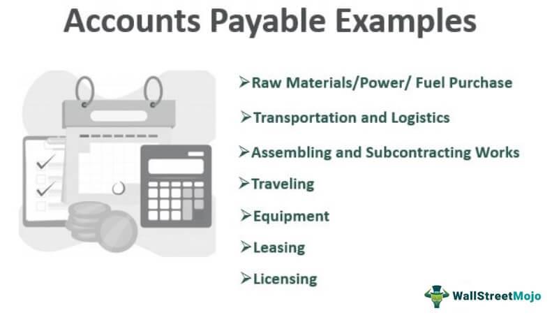 Accounts Payable Examples